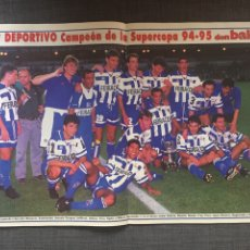 Coleccionismo deportivo: DON BALÓN 1038 - PÓSTER DEPORTIVO CAMPEÓN SUPERCOPA - RADUCIOIU. Lote 136201006
