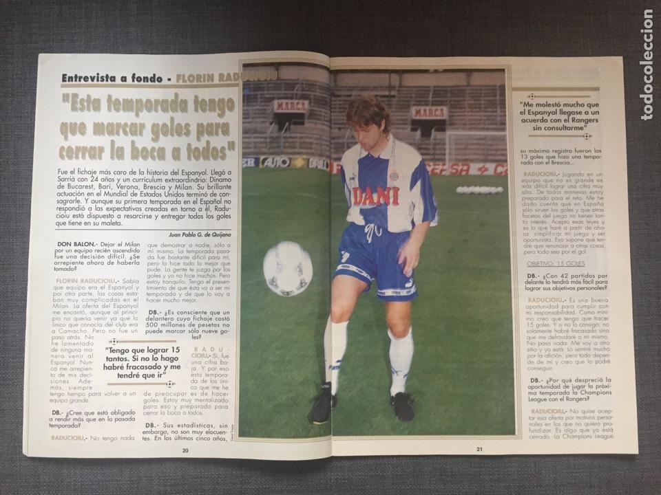 Coleccionismo deportivo: Don balón 1038 - Póster Deportivo campeón Supercopa - Raducioiu - Foto 2 - 136201006
