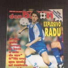Coleccionismo deportivo: DON BALÓN 1038 - PÓSTER DEPORTIVO CAMPEÓN SUPERCOPA - RADUCIOIU ESPANYOL. Lote 136201006