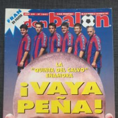 Coleccionismo deportivo: DON BALÓN 1041 - PÓSTER FRAN DEPORTIVO - BARCELONA - MILLA - ANTIC - MALLORCA - BARESI - ESPAÑA. Lote 136247484