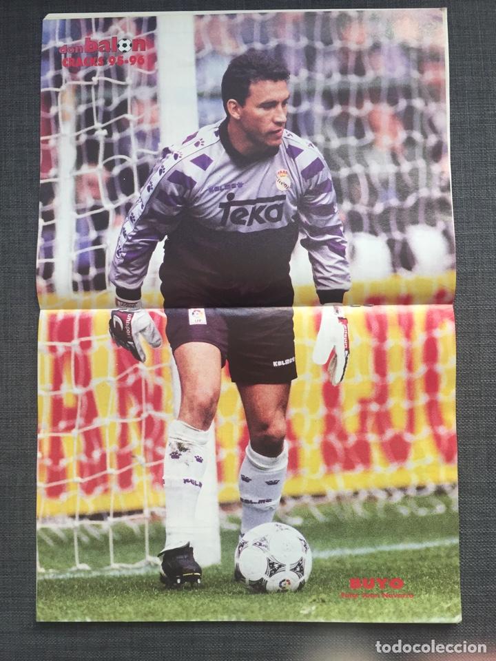 Coleccionismo deportivo: Don balón 1043 - Betis - Póster Buyo - Oli Oviedo - Rambo Petkovic - N'Kono - as marca sport album - Foto 2 - 136248358