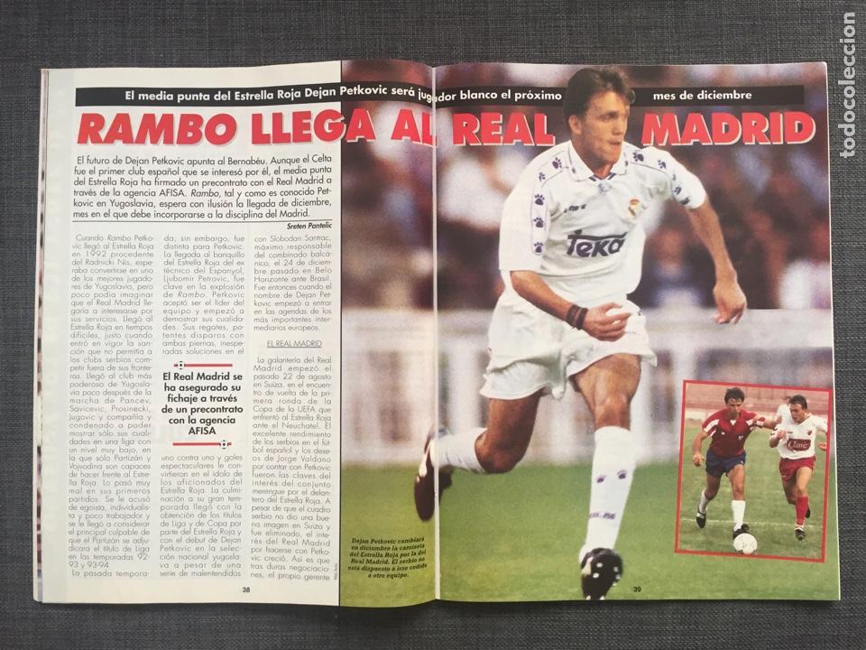 Coleccionismo deportivo: Don balón 1043 - Betis - Póster Buyo - Oli Oviedo - Rambo Petkovic - N'Kono - as marca sport album - Foto 4 - 136248358