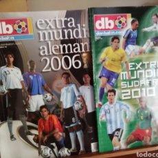 Coleccionismo deportivo: DON BALON MUNDIAL 2006 Y 2010. Lote 136248498