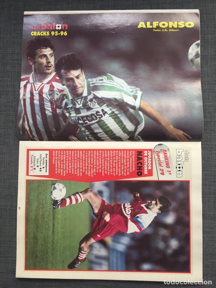 Coleccionismo deportivo: Don balón 1047 - Póster Alfonso Betis - Ivan De la Peña - Suker Sevilla - Puskas - Copas Europeas - Foto 4 - 136249989