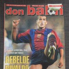 Coleccionismo deportivo: DON BALÓN 1223 - PÓSTER SALAMANCA - RIVALDO - CAÑIZARES - ATLÉTICO - BETIS - COPAS EUROPEAS. Lote 136284320