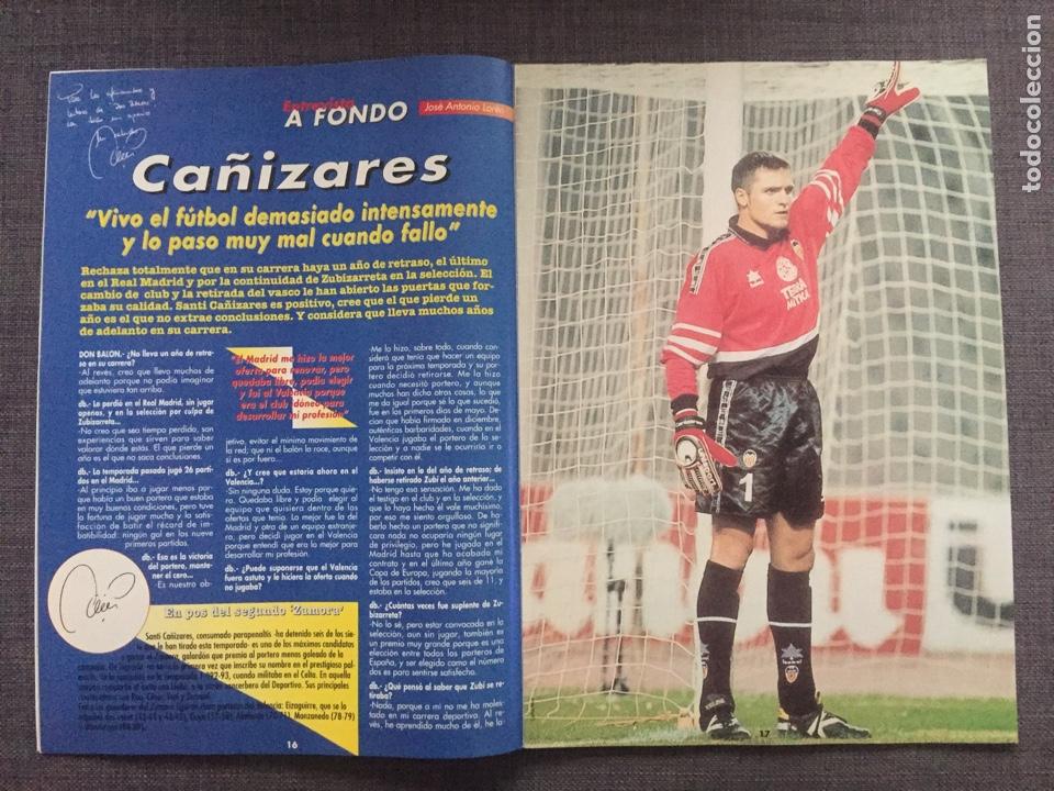Coleccionismo deportivo: Don balón 1223 - Póster Salamanca - Rivaldo - Cañizares - Atlético - Betis - Copas Europeas - Foto 3 - 136284320