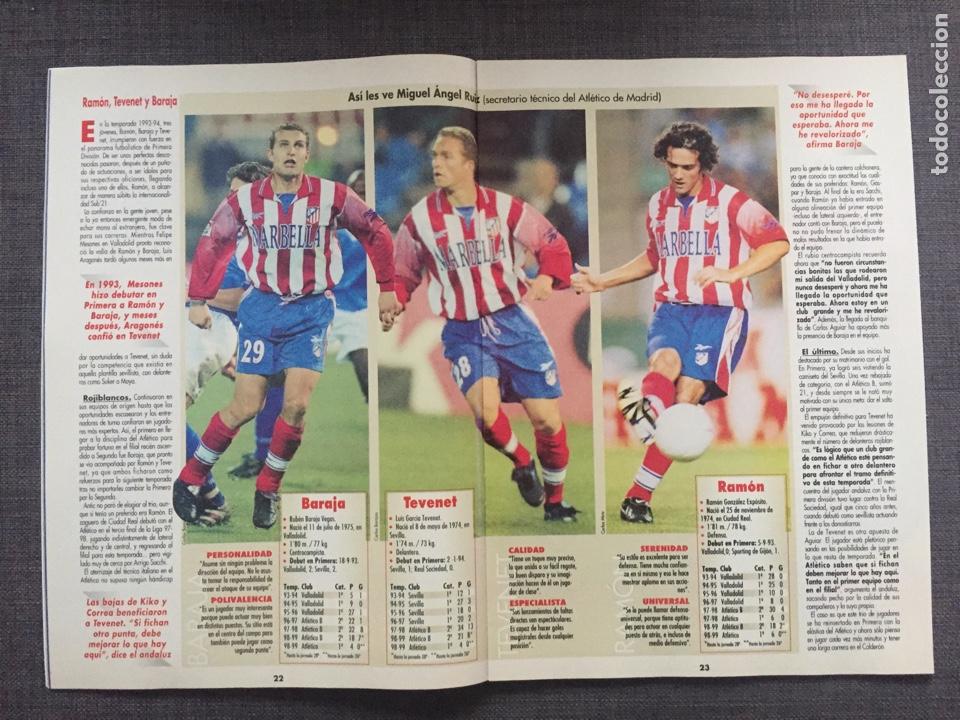 Coleccionismo deportivo: Don balón 1223 - Póster Salamanca - Rivaldo - Cañizares - Atlético - Betis - Copas Europeas - Foto 4 - 136284320