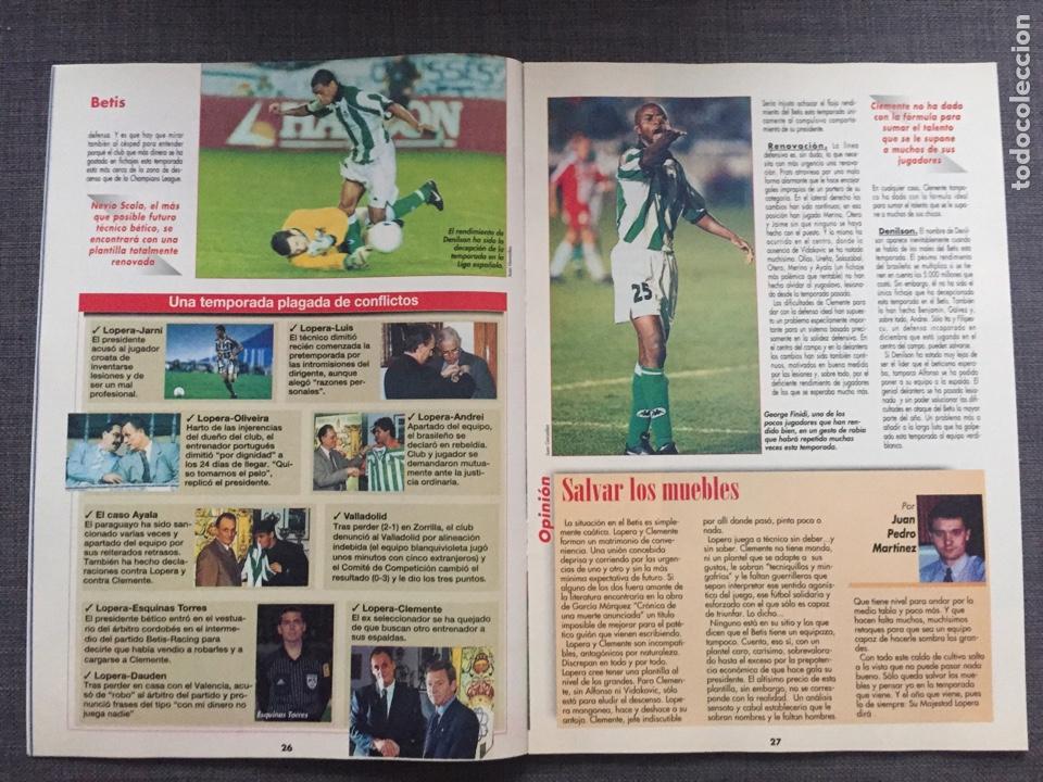 Coleccionismo deportivo: Don balón 1223 - Póster Salamanca - Rivaldo - Cañizares - Atlético - Betis - Copas Europeas - Foto 5 - 136284320