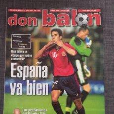 Coleccionismo deportivo: DON BALÓN 1224 - ESPAÑA VS AUSTRIA 9-0 - PÓSTER EXTREMADURA - VALENCIA - ATLÉTICO - BARCELONA - WEAH. Lote 136285976