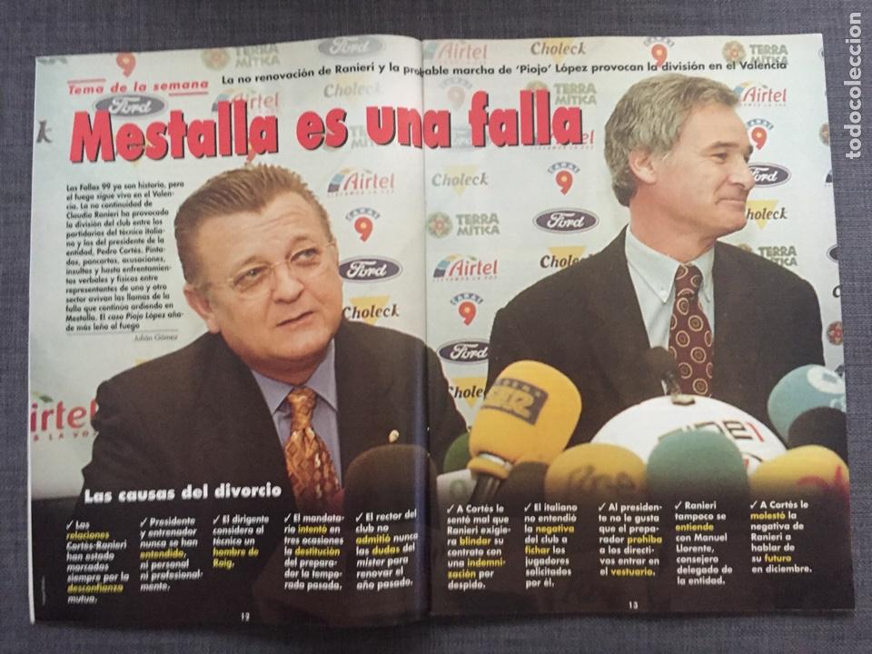 Coleccionismo deportivo: Don balón 1224 - España vs Austria 9-0 - Póster Extremadura - Valencia - Atlético - Barcelona - Weah - Foto 3 - 136285976
