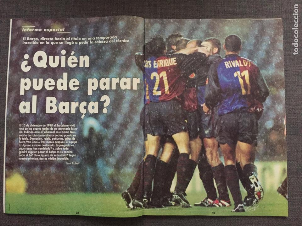 Coleccionismo deportivo: Don balón 1224 - España vs Austria 9-0 - Póster Extremadura - Valencia - Atlético - Barcelona - Weah - Foto 4 - 136285976