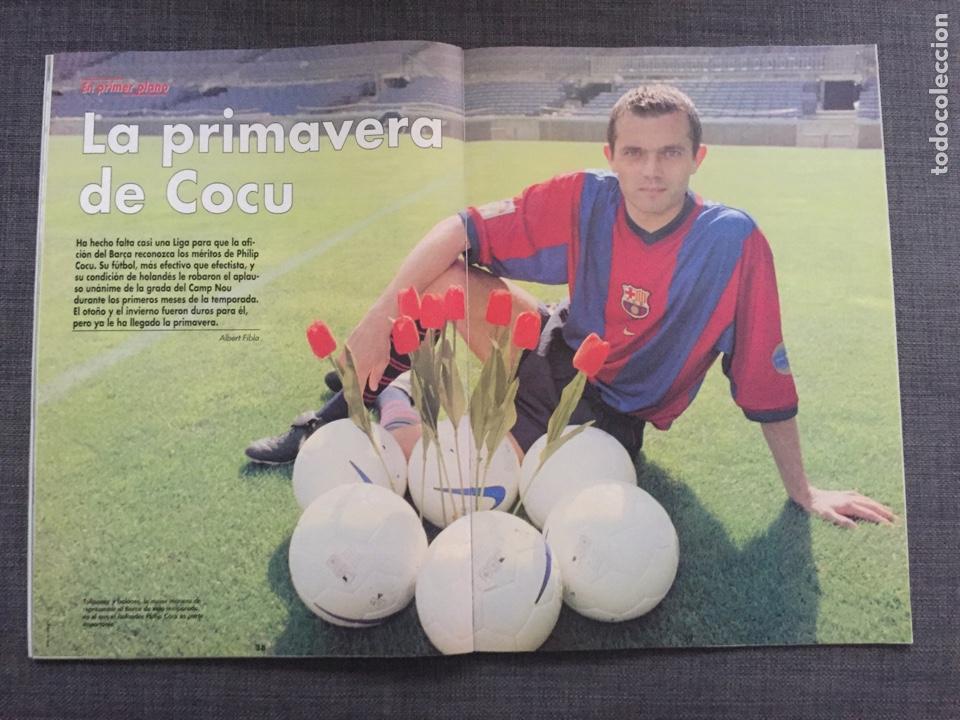 Coleccionismo deportivo: Don balón 1224 - España vs Austria 9-0 - Póster Extremadura - Valencia - Atlético - Barcelona - Weah - Foto 6 - 136285976