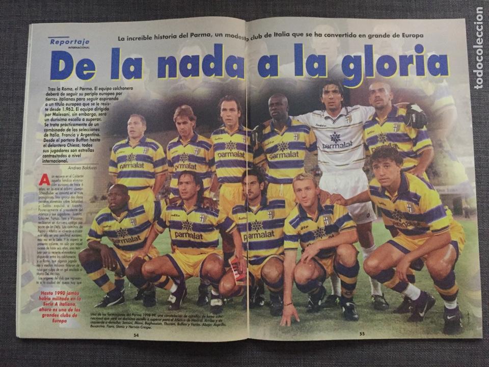 Coleccionismo deportivo: Don balón 1224 - España vs Austria 9-0 - Póster Extremadura - Valencia - Atlético - Barcelona - Weah - Foto 8 - 136285976