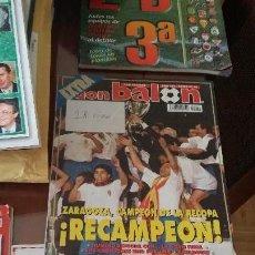 Coleccionismo deportivo: DON BALON ESPECIAL 30 AÑOS DE HISTORIA. Lote 136291734