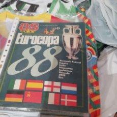 Coleccionismo deportivo: EUROCOPA 1988- EXTRA ESPECIAL AS COLOR. Lote 136374374