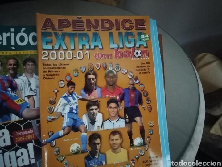 Coleccionismo deportivo: Don balon Apéndice Extra liga 2000 2001 - Foto 2 - 136393301