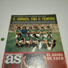 Coleccionismo deportivo: AS COLOR N°172. 3 SEPTIEMBRE 1974. POSTER 168 CLUB DE FUTBOL BARCELONA.. Lote 136410550