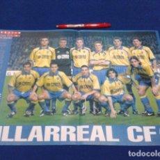 Coleccionismo deportivo: POSTER DOBLE PAGINA DON BALON ( VILLAREAL C.F.) TEMPORARA 2000 / 2001. Lote 136414454