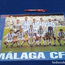 Coleccionismo deportivo: POSTER DOBLE PAGINA DON BALON ( MALAGA C.F. ) TEMPORADA 2001/ 02. Lote 136417562