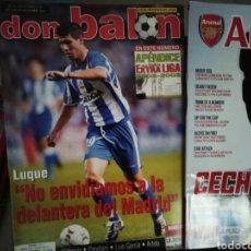 Coleccionismo deportivo: DON BALON APÉNDICE EXTRA LIGA 2002- 2003. Lote 136424826