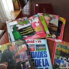 Coleccionismo deportivo: DON BALON 1986- LOTE 10 REVISTAS SALTEADAS. Lote 136453036