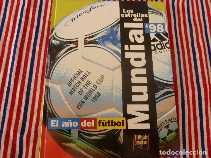 (ABJ)LIBRO FUTBOL-LAS ESTRELLAS DEL MUNDIAL 98-MUNDO DEPORTIVO (Coleccionismo Deportivo - Revistas y Periódicos - Mundo Deportivo)