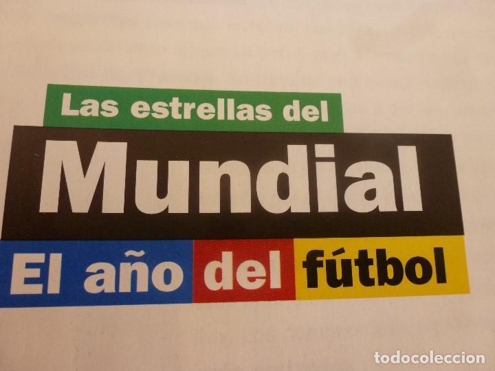 Coleccionismo deportivo: (ABJ)LIBRO FUTBOL-LAS ESTRELLAS DEL MUNDIAL 98-MUNDO DEPORTIVO - Foto 2 - 136554990