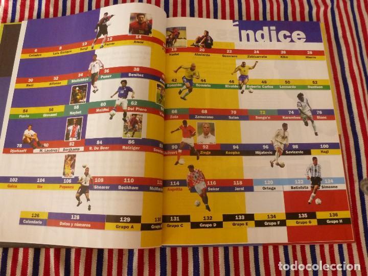 Coleccionismo deportivo: (ABJ)LIBRO FUTBOL-LAS ESTRELLAS DEL MUNDIAL 98-MUNDO DEPORTIVO - Foto 3 - 136554990