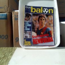 Coleccionismo deportivo: DON BALON Nº 3 CRUYFF LUIS ARAGONES. Lote 136768354