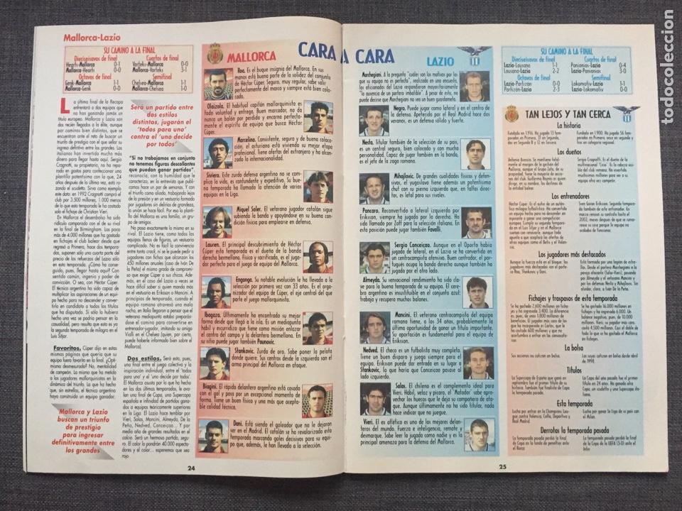 Coleccionismo deportivo: Don balón 1231 - Especial Final Recopa Mallorca - Póster Parma - Abelardo - Final UEFA - Ginola - Foto 4 - 136850121