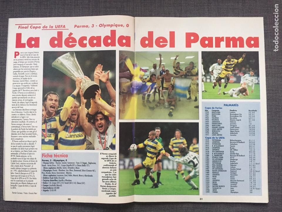 Coleccionismo deportivo: Don balón 1231 - Especial Final Recopa Mallorca - Póster Parma - Abelardo - Final UEFA - Ginola - Foto 5 - 136850121
