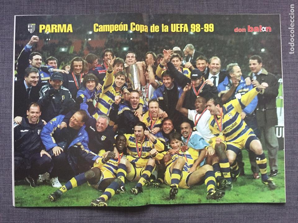 Coleccionismo deportivo: Don balón 1231 - Especial Final Recopa Mallorca - Póster Parma - Abelardo - Final UEFA - Ginola - Foto 6 - 136850121