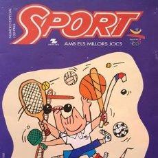 Coleccionismo deportivo: REVISTA SPORT Nº ESPECIAL - AMB ELS MILLORS JOCS - AÑO 1992 -. Lote 137101242