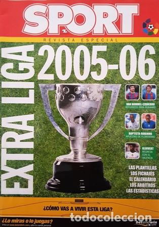 REVISTA SPORT - REVISTA ESPECIAL - EXTRA LIGA 2005 - 2006 - (Coleccionismo Deportivo - Revistas y Periódicos - Sport)
