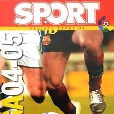 Coleccionismo deportivo: REVISTA SPORT - REVISTA ESPECIAL - EXTRA LIGA 2004 - 2005 -. Lote 137101398