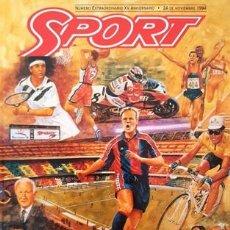 Coleccionismo deportivo: REVISTA SPORT - Nº EXTRAORDINARIO XV ANIVERSARIO - 24 NOVIEMBRE DE 1994 -. Lote 137104110