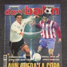 Coleccionismo deportivo: DON BALÓN 1236 - PÓSTER BARÇA CAMPEÓN LIGA - FINAL COPA ATLÉTICO VS VALENCIA - GABRI - NUMANCIA. Lote 137109402