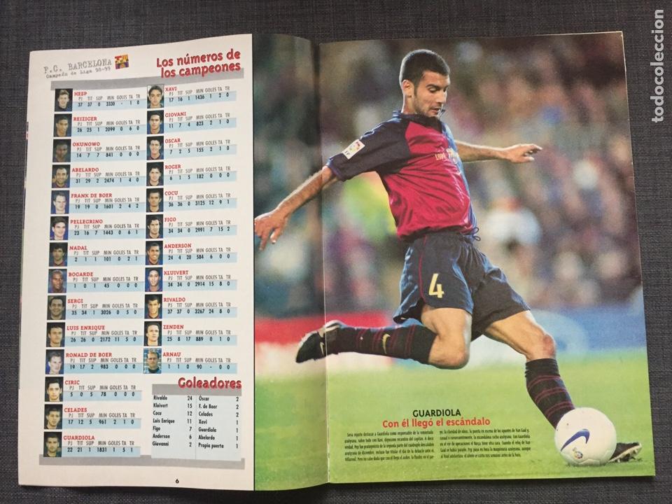 Coleccionismo deportivo: Don balón 1236 - Póster Barça campeón liga - Final copa Atlético vs Valencia - Gabri - Numancia - Foto 3 - 137109402