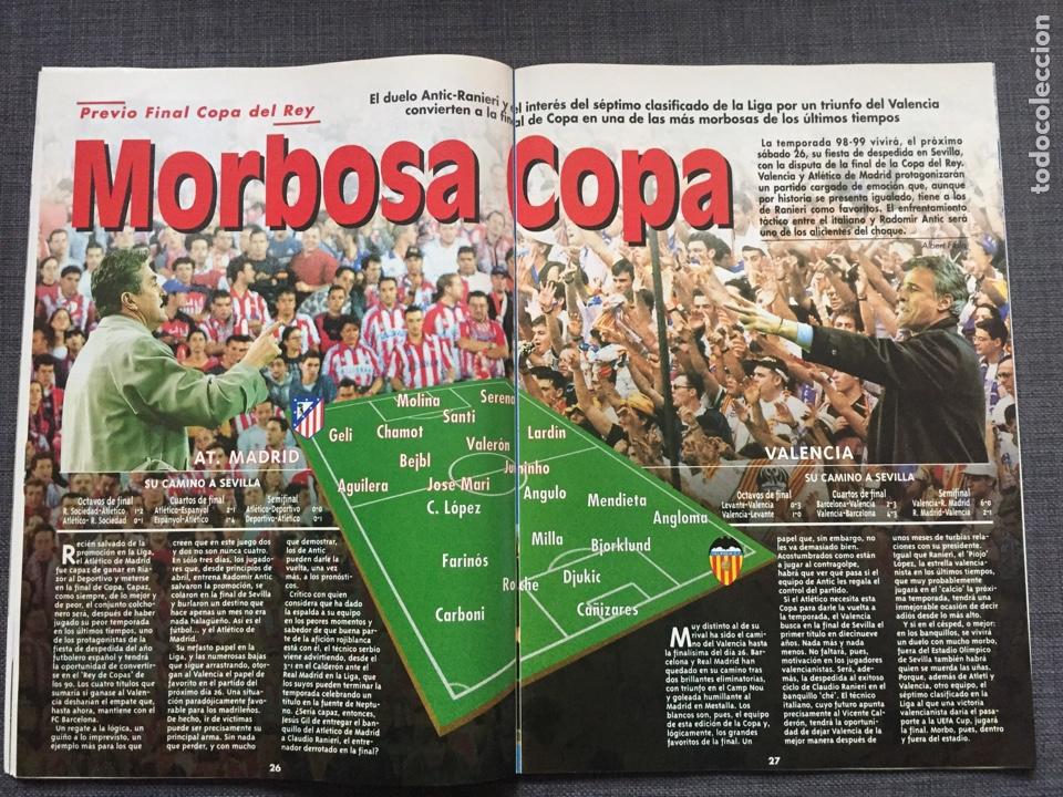 Coleccionismo deportivo: Don balón 1236 - Póster Barça campeón liga - Final copa Atlético vs Valencia - Gabri - Numancia - Foto 4 - 137109402