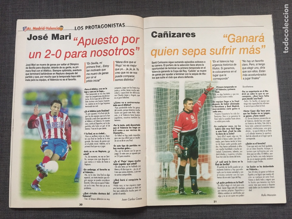 Coleccionismo deportivo: Don balón 1236 - Póster Barça campeón liga - Final copa Atlético vs Valencia - Gabri - Numancia - Foto 5 - 137109402