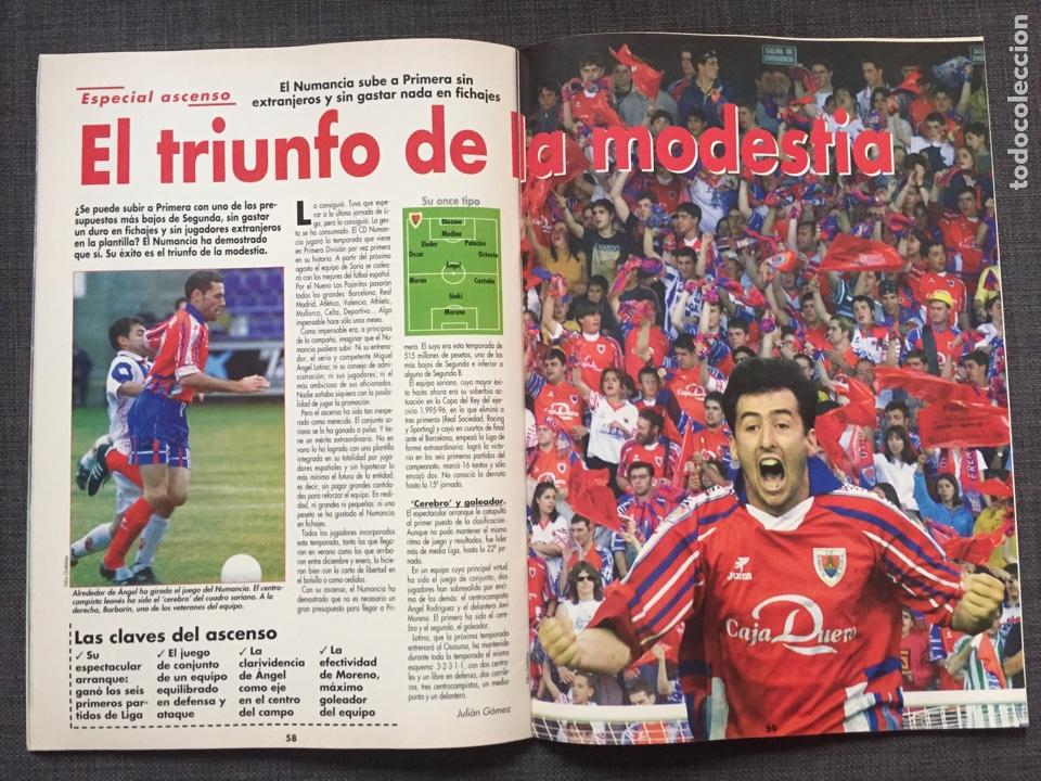 Coleccionismo deportivo: Don balón 1236 - Póster Barça campeón liga - Final copa Atlético vs Valencia - Gabri - Numancia - Foto 7 - 137109402