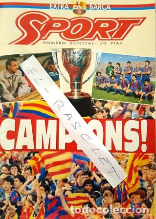 REVISTA SPORT - NUMERO ESPECIAL - EXTRA BARÇA - (Coleccionismo Deportivo - Revistas y Periódicos - Sport)