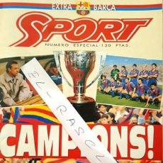 Coleccionismo deportivo: REVISTA SPORT - NUMERO ESPECIAL - EXTRA BARÇA -. Lote 137126586