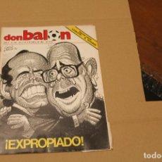 Coleccionismo deportivo: REVISTA DON BALÓN Nº 443, AÑO 1984. Lote 137143574