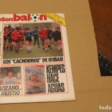 Coleccionismo deportivo: REVISTA DON BALÓN Nº 441, AÑO 1984. Lote 137143602