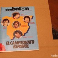 Coleccionismo deportivo: REVISTA DON BALÓN Nº 430, AÑO 1984. Lote 137143926