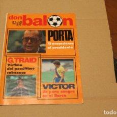 Collezionismo sportivo: REVISTA DON BALÓN Nº 306, AÑO 1981. Lote 137146282