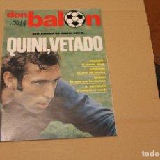 Collectionnisme sportif: REVISTA DON BALÓN Nº 294, AÑO 1981. Lote 137146526