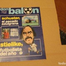 Collezionismo sportivo: REVISTA DON BALÓN Nº 292, AÑO 1981. Lote 137146558