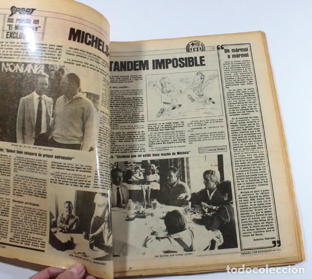 Coleccionismo deportivo: PERIODICO DEPORTIVO SPORT Nº 1, BARCELONA 3 NOVIEMBRE 1979, COMPLETO ESTA PLASTIFICADO, FUTBOL - Foto 2 - 137153266